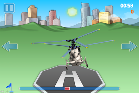 Screenshot Helicopter Landing Pro Lite